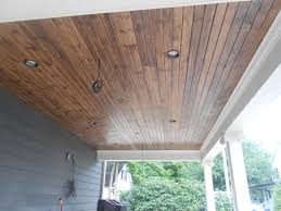 porch ceiling home design styles