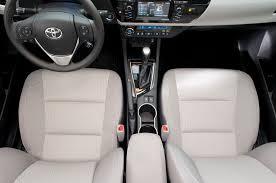 toyota corolla seats 2014 toyota corolla overhead seats photo 52934897 automotive com