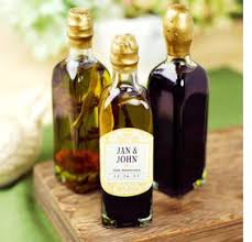 olive favors wedding ideas mini olive and balsamic vinaigrette favors