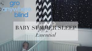 Gro Company Blackout Blind Baby Summer Sleep Essential Gro Anywhere Blind Review Youtube