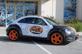 punch buggy car convertible west coast customs volkswagen beetle geekmobile photo gallery