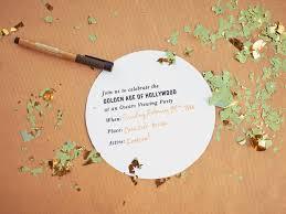 thanksgiving invitations ideas film inspired oscar party invitation hgtv