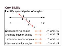 Same Side Interior Angles Definition Geometry 3 3 Parallel Lines U0026 Transversals Ppt Video Online Download