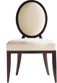 oval x back dining side chair by barbara barry 3440 baker