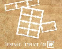 microsoft word compatible printable template custom tag label