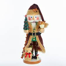 outdoors nature wooden nutcrackers smokers ornaments by