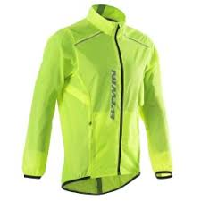fluorescent cycling jacket cycling jackets gillets windproof waterproof decathlon