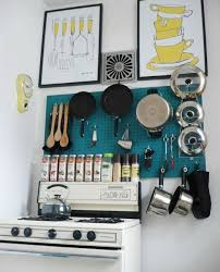 kitchen pegboard ideas pegboards in the kitchen apartment therapy