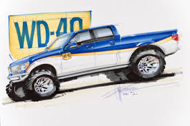 chip foose drawings and sketches chip foose created a rendering