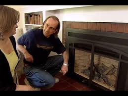 How To Install Gas Logs In Existing Fireplace by How To Install A Gas Fireplace Insert This Old House Youtube