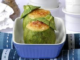 cuisiner courgette ronde courgettes rondes farcies à la ricotta au thermomix cookomix