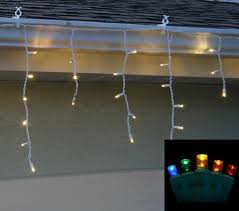 Multi Color Icicle Lights Led Icicle Lights U2013 Elite Holiday Decor