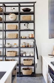 etagere rangement cuisine design interieur idée garde manger ouvert étagère rangement