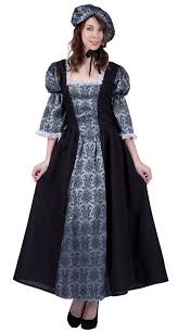women u0027s colonial lady charlotte costume candy apple costumes