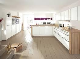 cuisine blanche bois cuisine blanche et bois priton