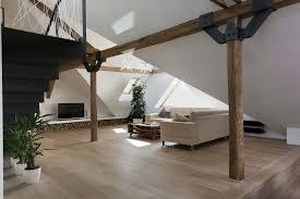 Loft Strasbourg by Attic Loft Reconstruction By B Architecture