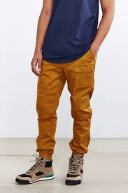 Without Walls Clothing by Without Walls Cargo Pocket Jogger In Brown For Men Lyst