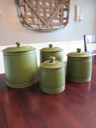 green kitchen canister set sango contrast charcoal covered canister set by sango canister