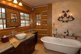 rustic bathroom decor ideas polished gold colorado style on 2