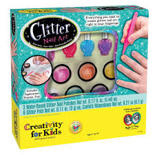 amazon com creativity for kids glitter nail art toys u0026 games