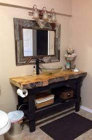 Rustic Small Bathroom by Rustic Bathroom Vanity Plans Jaiainc Us