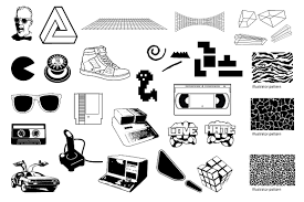 Home Design Resources Generator by 15 Unbelievably Awesome 1980s Design Resources Creative Market Blog
