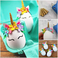easter eggs unicorn easter eggs i heart arts n crafts