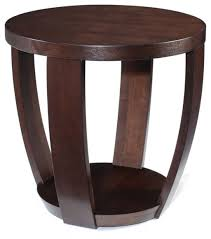 round wood accent table round accent table shelby knox