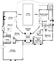 U Shaped House Plans With Courtyard 16 Best House 2016 Images On Pinterest House Plans With Pool