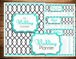 downloadable wedding planner wedding planner printable wedding guest list planner