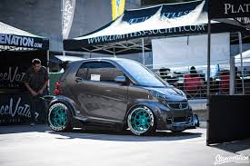 stanced cars stanced smart car dont see that every day more pics to follow