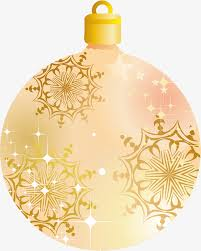 golden shining ornaments golden shine ornaments png image for