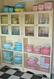 alluring vintage kitchen display cabinets super kitchen design