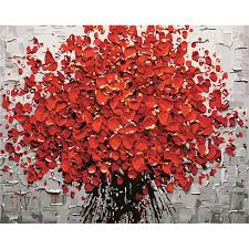 acrylic paint abstract modern wall art canvas painting for home