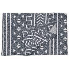 mali throw blanket modern geometric home decor savannah hayes