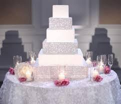 bling cake stand bling bling square set of 3