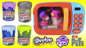 magical microwave surprises putty turns toys blind bags