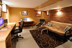 Basement Renovation Ideas Another Cool Basement Office Concept Home Is Where The House Is