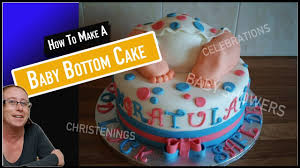 baby bottom cake how to make a baby bottom cake baby shower cakes