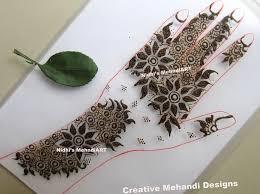 easy gulf style floral henna mehndi design with tutorial nidhi s