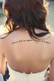 collection of 25 quotes words tattoos on back