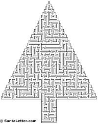 tree maze 3 santaletter