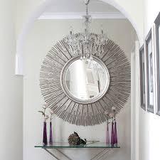 small round decorative wall mirrors vanity decoration