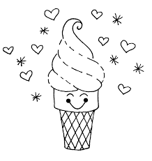 new ice cream coloring pages cool ideas 4821 unknown