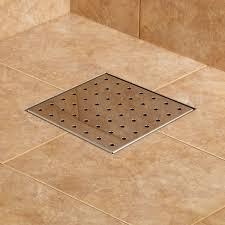 Bathroom Shower Drain Covers Modern Square Shower Drain Cover With Werner Bathroom Remodel 1