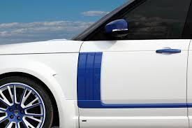 range rover blue and white range rover lumma clr r white and blue topcar