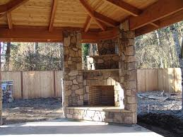 Outdoor Fireplace Patio Corner Outdoor Fireplace Patio Modern With Concrete Fireplace