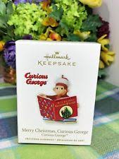 curious george ornament ebay