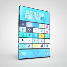 sketch u0026 toon model pack v 03