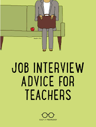 How To Make A Resume For Teaching Job by Job Interview Advice For Teachers Cult Of Pedagogy